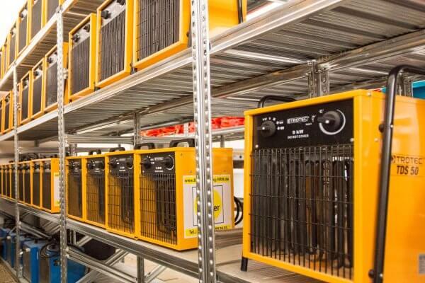 Mobile Heizsysteme von Bautrocknung Liesner