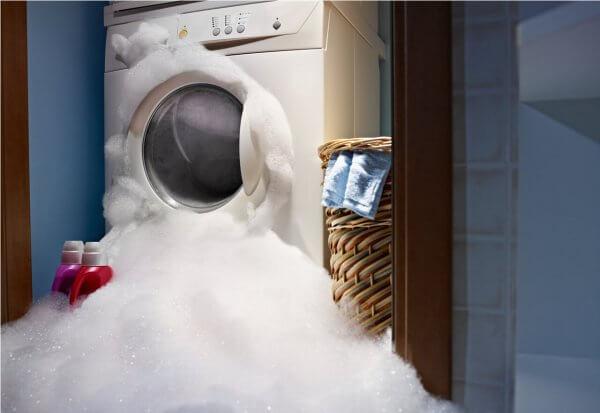 Hilfe, meine Waschmaschine ist ausgelaufen!